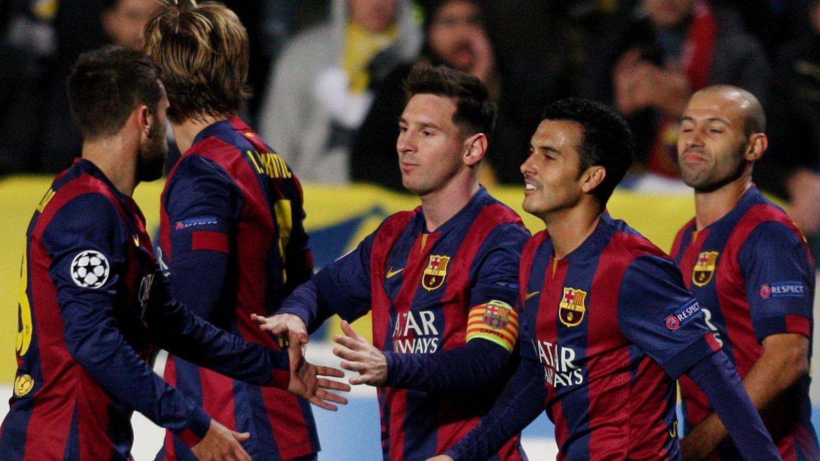 Barca : Encore un triplé et encore un record pour Messi