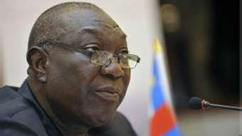 L'ancien président centrafricain Michel Djotodia, aujourd'hui leader du front populaire pour la renaissance de la Centrafrique (FPRC)