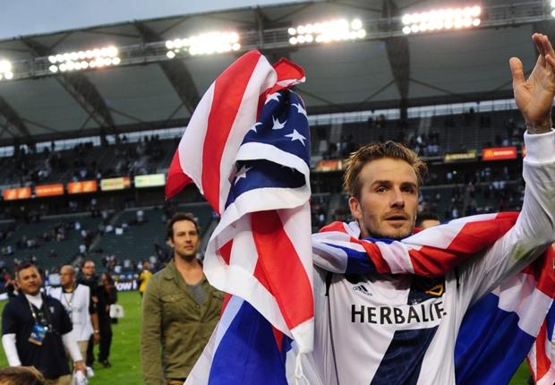 David Beckham accidenté