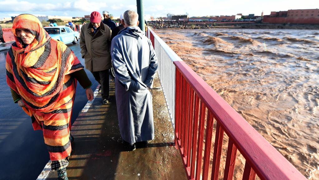Un an de pluie s'abat sur le sud du Maroc en 48h