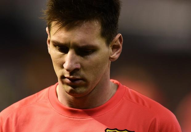 Barça: Messi touché par un projectile à Valence