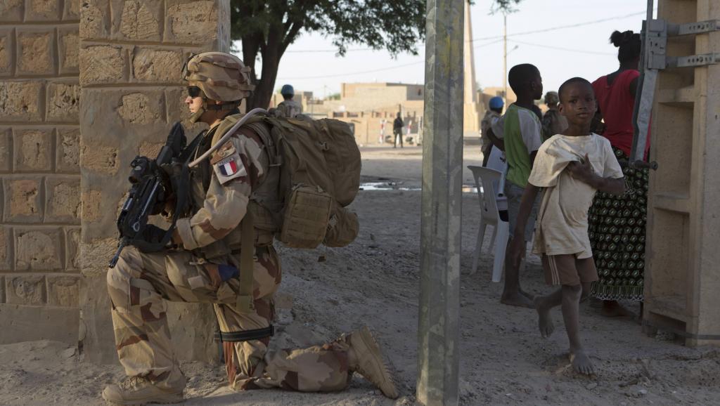 Soldat français de l'opération Barkhane au Mali, le 5 novembre 2014. REUTERS/Joe Penney
