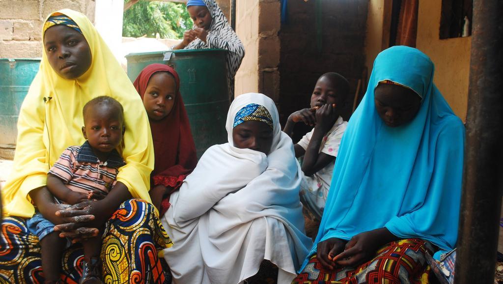 Des réfugiés fuyant les attaques de Boko Haram au Nigeria en septembre 2014. REUTERS/Samuel Ini
