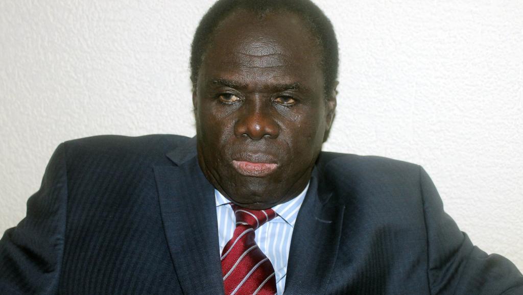 Le président de la transition Michel Kafando est un peu revenu sur les propos de son Premier ministre concernant l'extradition de l'ancien président burkinabè. AFP / STRINGER