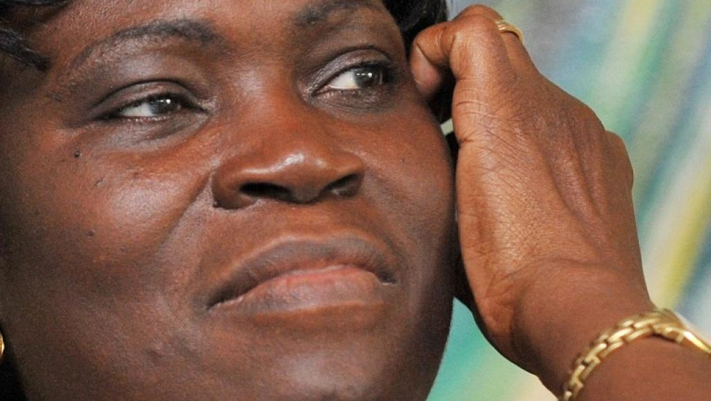 Simone Gbagbo en 2009. AFP PHOTO/ SIA KAMBOU