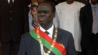 Michel Kafando, Président de la transition