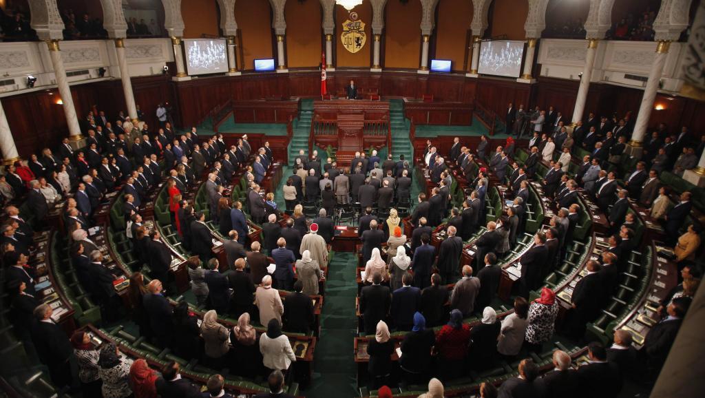 Vue d'ensemble de l'Assemblée tunisien en session le 2 décembre 2014 à Tunis. REUTERS/Zoubeir Souissi