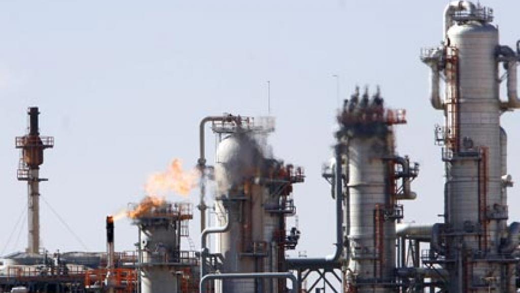 98 % des exportations algériennes sont basées sur les hydrocarbures. (ici le site gazier de Krechba dans le sud de l'Algérie, en 2008) REUTERS/Zohra Bensemra