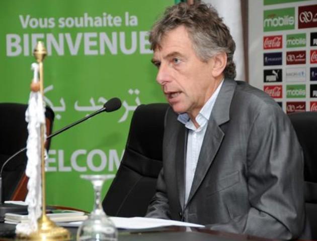 Christian Gourcuff- sélectionneur de l'Algérie: « Le Sénégal me fait penser au Mali »