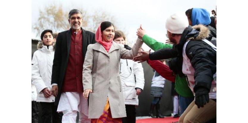 Malala et l'Indien Satyarthi reçoivent le Nobel de la paix