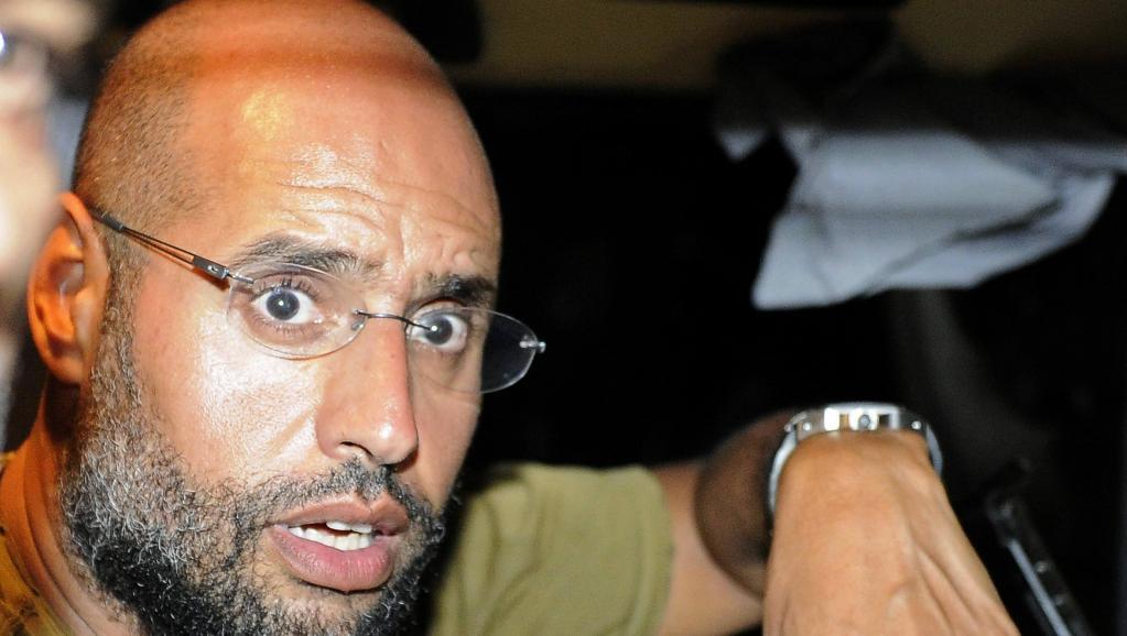 Saïf al-Islam, le fils de Mouammar Kadhafi, en août 2011 à Tripoli. REUTERS/Paul Hackett
