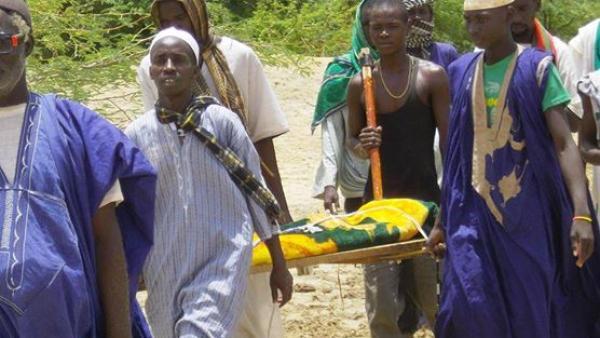 Scène du documentaire « Retour sans cimetière » du réalisateur mauritanien Djibril Diaw. DR