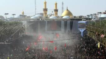Des millions de pèlerins chiites à Karbala en Irak