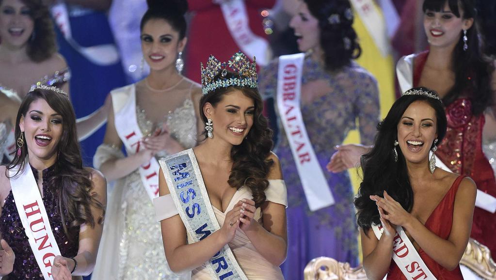 Rolene Strauss, Miss Afrique du Sud 2014 et Miss Monde 2015. REUTERS/Toby Melville