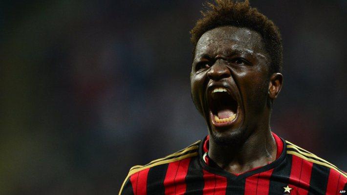 Milan AC: Muntari au coeur d'une grosse polémique