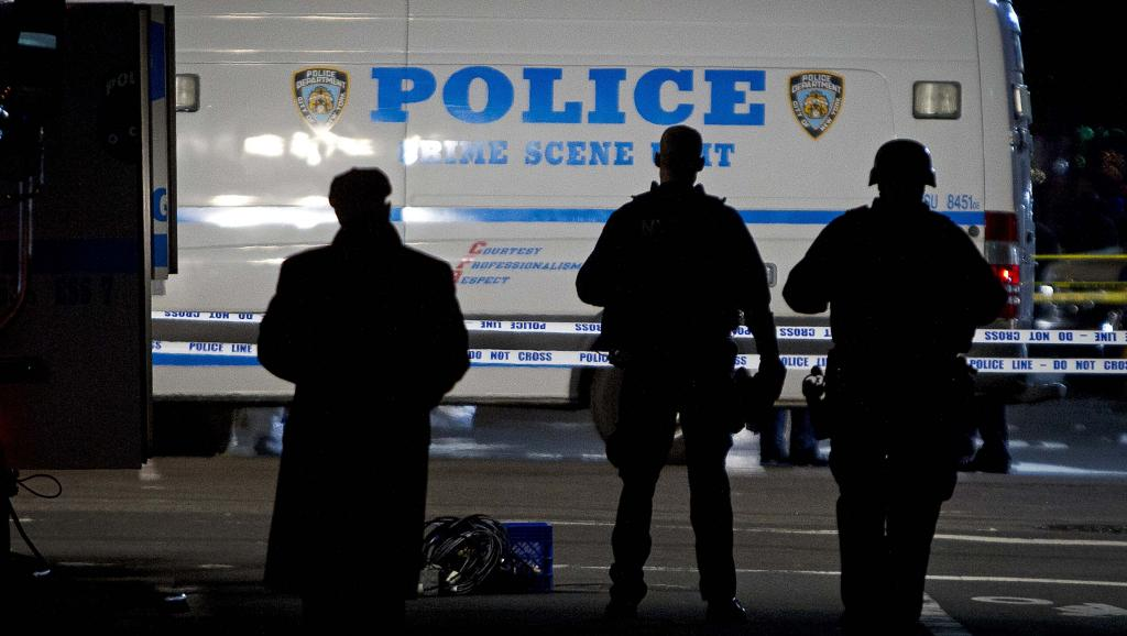Etats-Unis: assassinat de deux policiers à New York