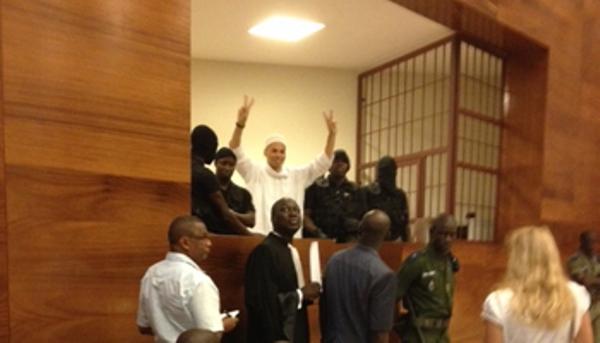 """Direct procès de Karim-le cri du coeur de Mamadou Pouye: """"Cela fait 616 jours  que je suis en prison"""""""