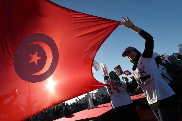 Les Tunisiens se sont mobilisés pour voter pour leur nouveau président, ici en faveur du president sortant Moncef Marzouki