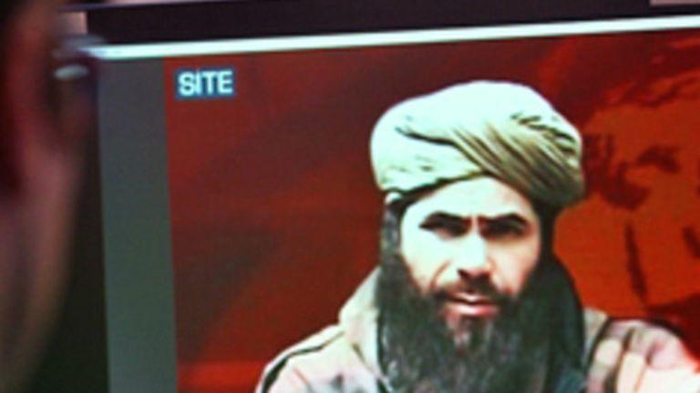 Abdelmalek Droukdel, chef de l'AQMI, figure parmi les islamistes poursuivis.