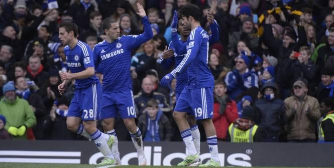 Chelsea lance le sprint
