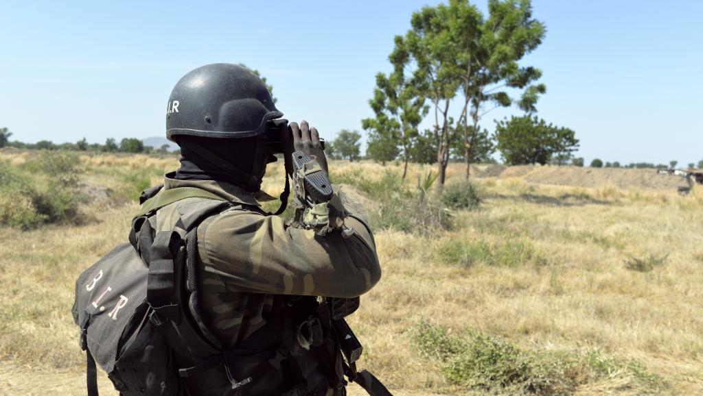 La frontière entre le Cameroun et le Nigeria voit se multiplier les incursions de Boko Haram. AFP PHOTO/REINNIER KAZE