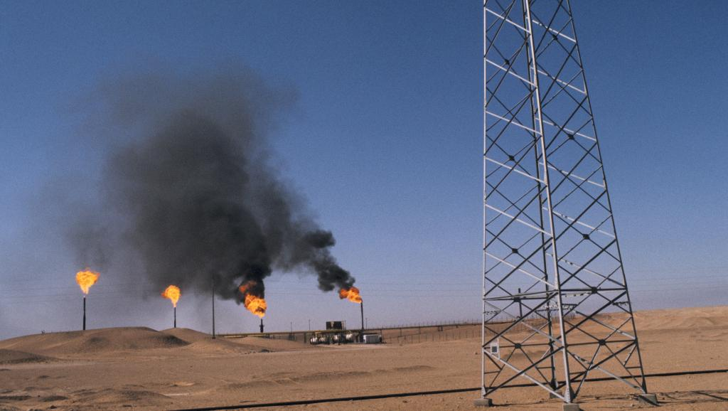 Puits de pétrole en Algérie. Getty Images/ Keystone-France