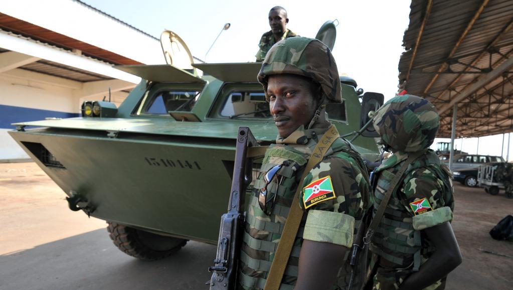 Le Burundi sait pouvoir compter sur une armée très expérimentée. AFP PHOTO / SIA KAMBOU