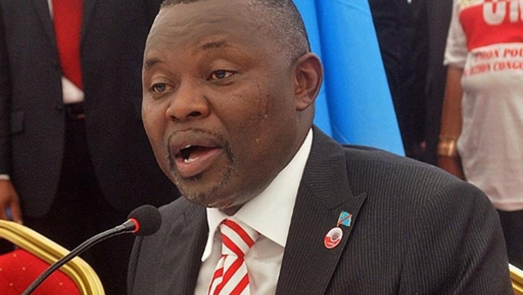 L'opposant Vital Kamerhe, leader de l'UNC, l'Union nationale pour la nation congolaise. AFP PHOTO/ ADIA TSHIPUKU
