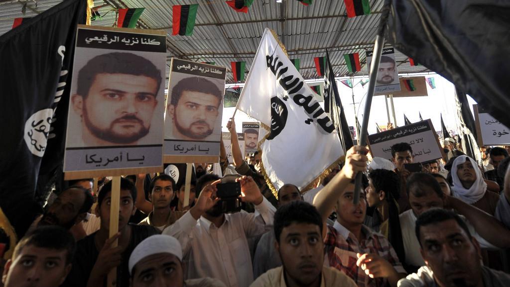 La capture du Libyen Al-Libi avait déclenché des manifestations, comme ici à Benghazi le 11 octobre 2013. REUTERS/Esam Omran Al-Fetori