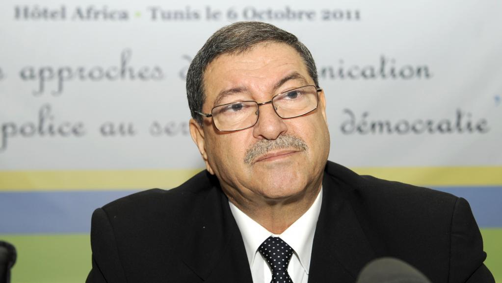 Le nouveau Premier ministre tunisien, Habib Essid nommé le 5 janvier 2015 (photo datant de 2011). AFP PHOTO / FETHI BELAID