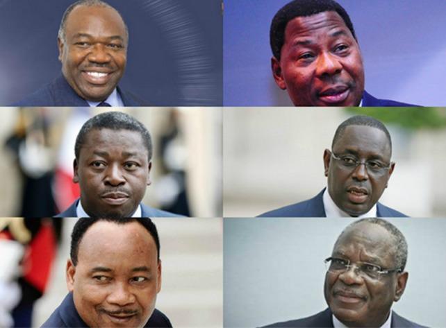 Des présidents africains Échansons de la Liberté occidentale