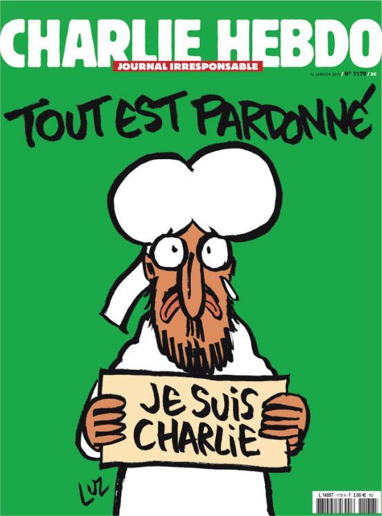 Le nouveau Charlie Hebdo dans les kiosques