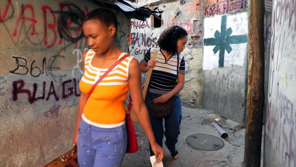 Cheila Lima et Ciomara Morais dans « Alda et Maria » de Pocas Pascoal. JHR Films