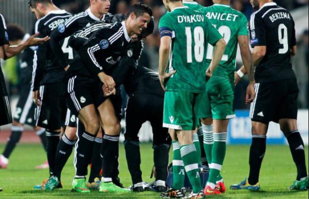 L'Atlético et les prochains adversaires du Real peuvent souffler, Ronaldo a eu le Ballon d'Or
