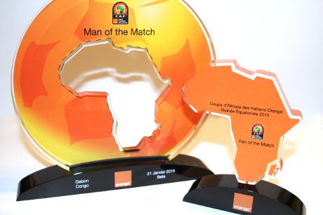 Can 2015 : les trophées de l'homme du match dévoilés