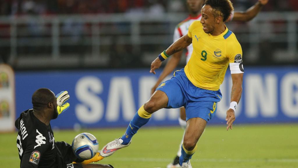 Le Gabonais Pierre-Emerick Aubameyang. REUTERS/Mike Hutchings