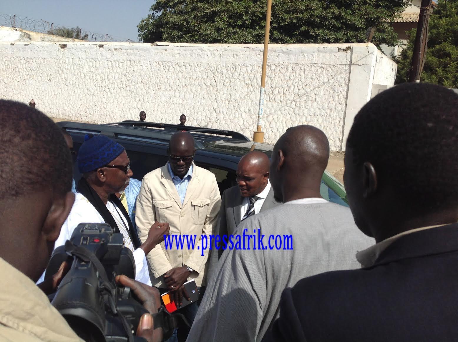 Images Rebeuss: Serigne Moustapha Mbacke rend visite à Karim