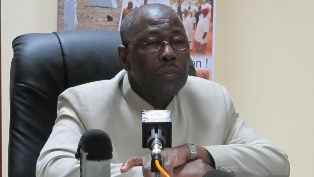Ousmane Koné, le ministre malien de la Santé (photo) et le chef de la Mission des Nations unies pour la lutte contre Ebola (UNMEER) dans le pays ont annoncé que l'épidémie était terminée dans le pays. RFI/David Baché