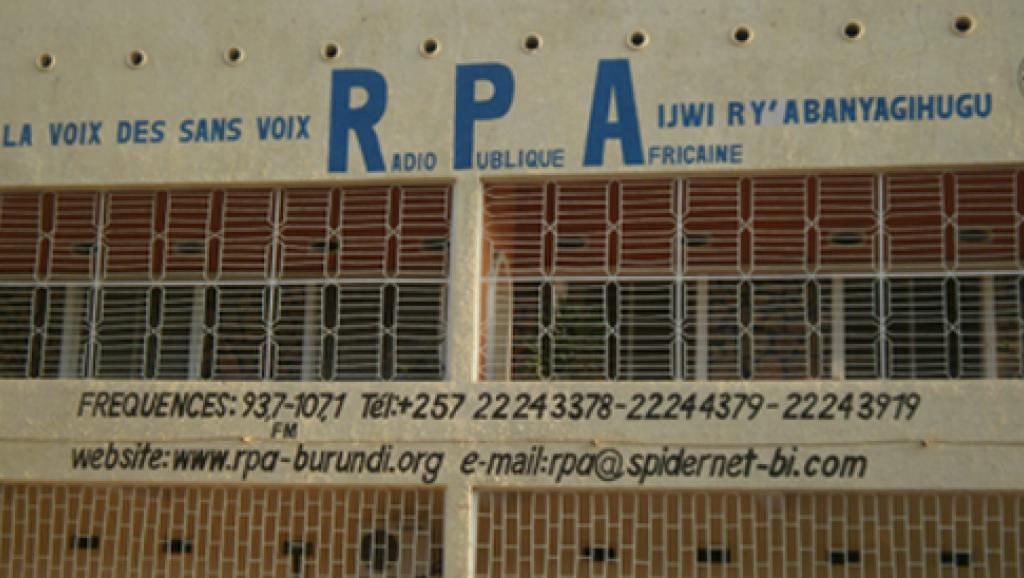 Bâtiment de la Radio publique africaine (RPA) à Bujumbura. http://www.rpa-burundi.org/