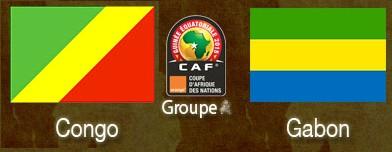 Direct Can 2015:  Gabon/congo 0-1: le Congo gagne et prend la tête du groupe A