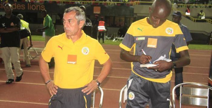 """CAN 2015 Sénégal vs Afrique du sud: """"Nous jouons  contre une très bonne équipe"""", signale Giresse"""