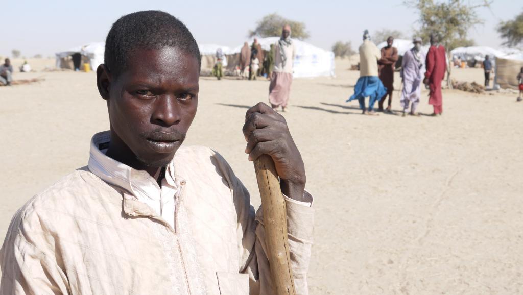 [Reportage] Boko Haram au Niger: Ibrahim Ousmane, réfugié et handicapé