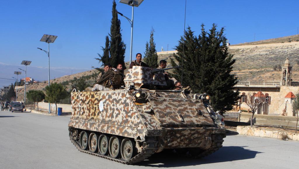 Violents combats entre l'armée libanaise et le groupe EI