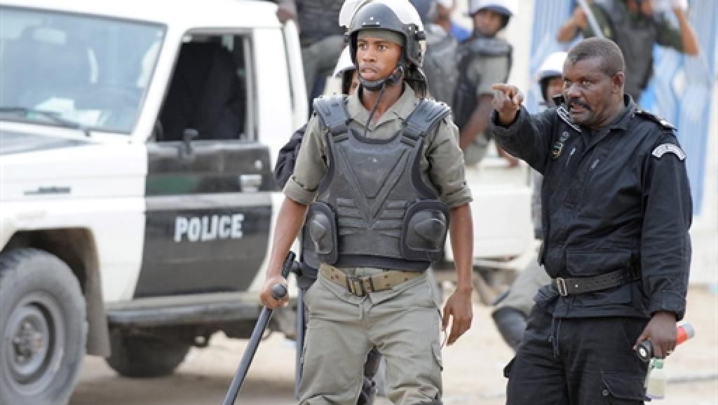 (Photo d'illustration). La zone autour de la prison de Nouakchott a été bouclée pendant plusieurs heures, vendredi 23 janvier. AFP PHOTO / SEYLLOU