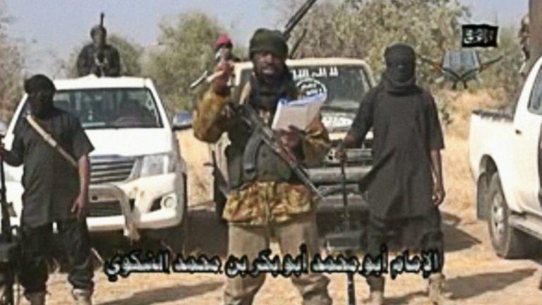 Des combattants de Boko Haram. Jonathan promet de mettre fin à leurs actions, s'il est réélu.