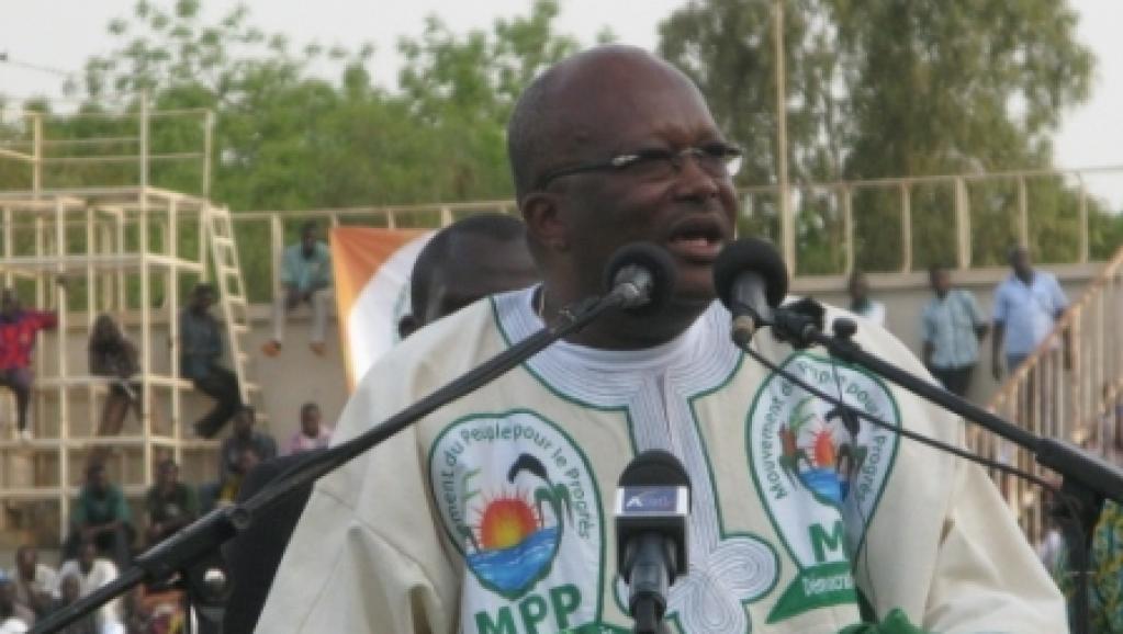 Roch Marc Christian, président du MPP. RFI / Yaya Boudani