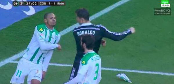 Liga-VIDEO: Cristiano Ronaldo expulsé pour un geste très violent !