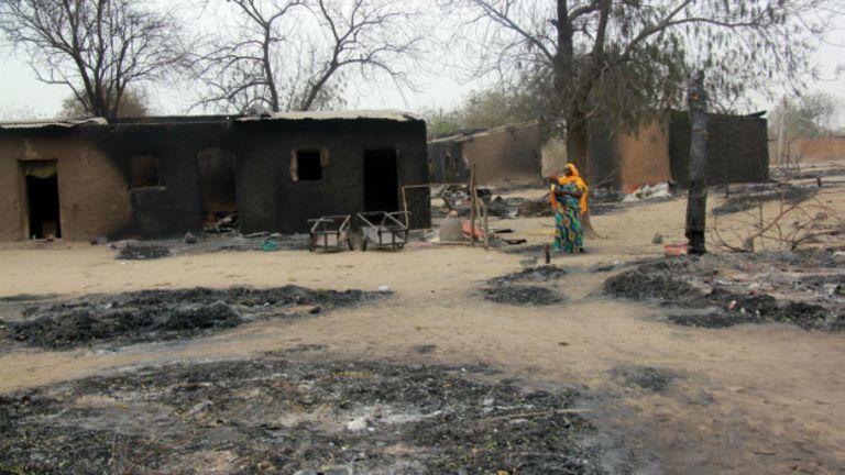 Boko Haram a incendié plusieurs villages depuis le début de son inssurection en 2009