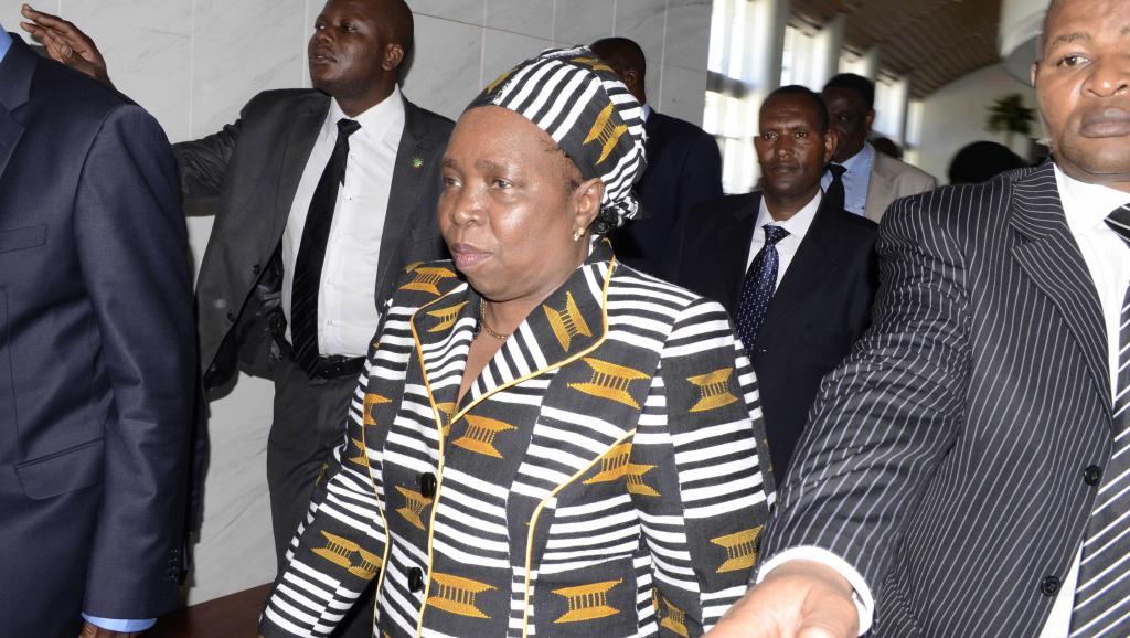 Nkosazana Dlamini-Zuma, le 15 octobre 2012 à Addis-Abeba. REUTERS/Tiksa Negeri