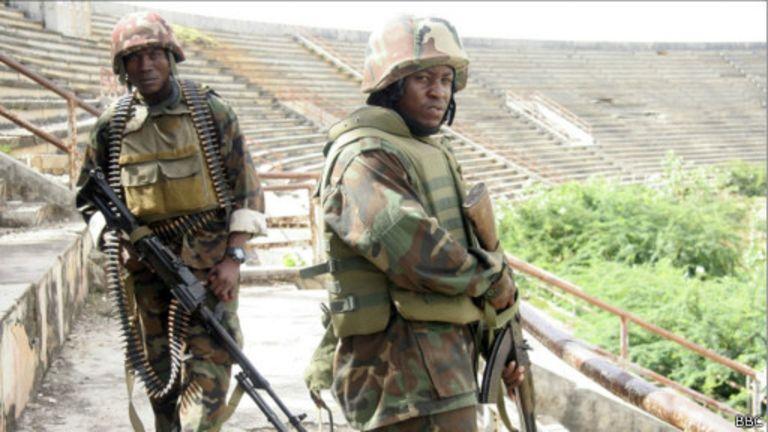 Soldats de l'Amisom
